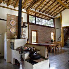 São Lourenço da Serra/SP: Casas rústicas por Bianka Mugnatto Design de Interiores