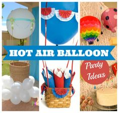 Hot Air Balloon Parties #hotairballoon #parties