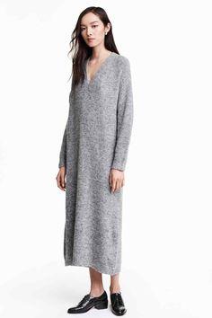 H&M long knit dress