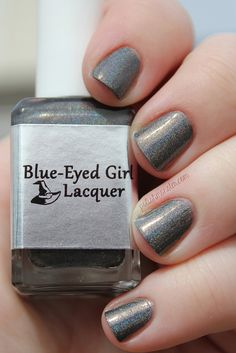Blue Eyed Girl Lacquer Discontinued Limited Edition (Nail Polish Frights Halloween Collection) #blueeyedgirllacquer #begl #beglove #swatch #indiepolish