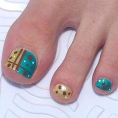 Toe Designs with Nail Polish - toe Designs with Nail Polish , 50 Cute Summer toe Nail Art and Design Ideas for 2019 Simple Toe Nails, Cute Toe Nails, Toe Nail Art, Nail Art Diy, Diy Nails, Nail Nail, Glam Nails, Pedicure Designs, Manicure E Pedicure