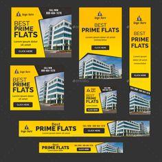 Banner Design Inspiration, Web Banner Design, Real Estate Banner, Digital Banner, Facebook Cover Design, Real Estate Ads, Real Estate Flyer Template, Banners, Ads Banner