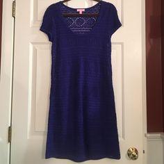 Lily Pulitzer Short Sleeve Sweater Dress