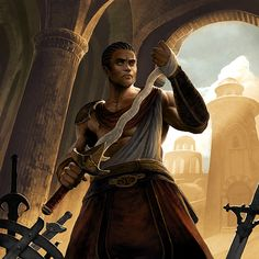 Men of Color In Fantasy Art — Redguard card art from Elder Scrolls Legends...