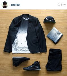 Love this dude's outfit grids!  | http://shop.artesoul.com/