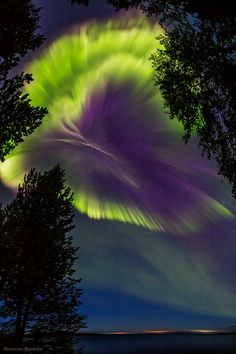 Northern Lights in Russia