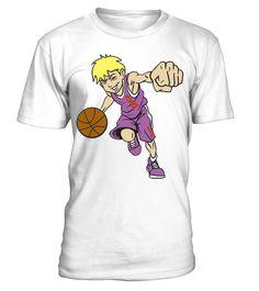 Basket boy orange ribbon light - tshirt - Tshirt