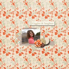 A picture of my daughter.  Kit and template used:  Family Time by SAS Designs available at hhttp://www.thedigichick.com/shop/SAS-Designs/