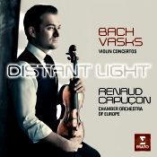 John J. Puccio at Classical Candor reviews Bach and Vasks: Violin Concertos, with Renaud Capucon and the Chamber Orchestra of Europe on an Erato CD.
