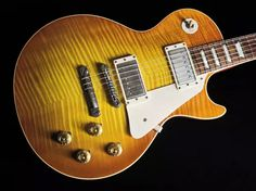Gibson Les Paul 1959 Reissue Historic R9 Yamano VOS ~ Sunrise Tea Burst AAAA Top