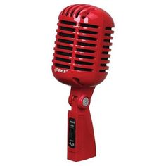 PYLE PDMICR42R Classic Retro Vintage Style Dynamic Vocal Microphone, $95