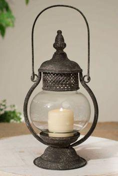 Primitive-Sepia-Candle-Lantern