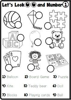 Toy Labels, Seasons Activities, School Worksheets, Prepositions, School Subjects, Activity Games, Teaching English, Esl, Grammar