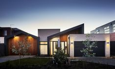 Little Brick Studio is a Multi Award Winning Residential and Commercial Building Designers providing stand out custom designed homes as well as and emphasis on making the design and build process as easy as possible for our clients. Based in Australia Duplex Design, House Design, Brick Studio, White Shaker Kitchen, Roof Shapes, Duplex House Plans, Home Studio, Home Look, Building Design