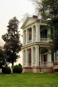 The Carnton Plantation...one of my favorite places in the world and that's why I work there.