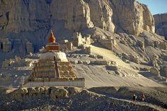 Tibetan Monastery | Ruins of the Monastery of Toling, Tibet