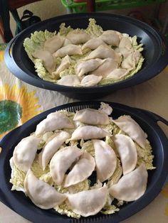 Vai alla ricetta per fare i ravioli cinesi con il bimby