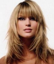 Long Layered Haircuts With Bangs Pictures 3