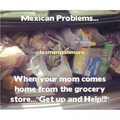 Mexican Problem :D This takes me back lol Funny Mexican Quotes, Mexican Memes, Mexican Words, Mexican Stuff, Hispanic Jokes, Hispanic Girls, Mexicans Be Like, Spanish Jokes, Funny Spanish
