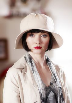 Miss Phryne Fisher (Essie Davis) in 'Murder on the Ballarat Train' (Series 1…