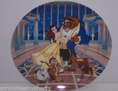 Disney First Beauty & the Beast Collector Plate Potts