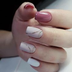 Take a look at the best french nails in the pictures below and choose … - Nails Ideas & Nails Diy Classy Nails, Cute Nails, Pretty Nails, Stylish Nails, Acrylic Nail Designs, Nail Art Designs, Acrylic Nails, Coffin Nails, Gorgeous Nails