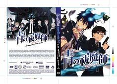 DVD Blue Exorcist Episode 1-25 END + The Movie .. English Dubbed All Region