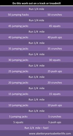 30 minute cross train session at home. This will surely kick my ass. A must do!                                                                                                                                                      Plus