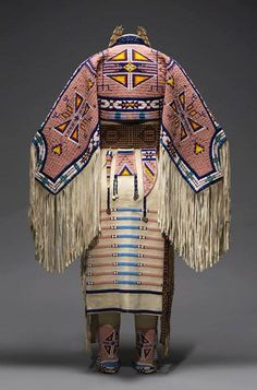 """'The Plains Indians'-Jodi Archambault Gillette (American, born 1959) 