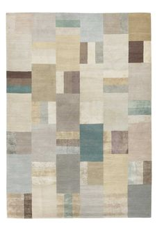 Hue Pale by Christopher Sharp | Silk Contemporary hand-knotted designer rugs