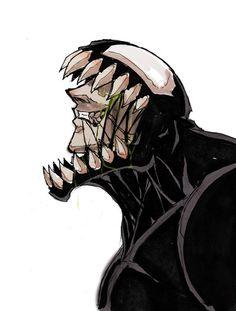 Venom Face 2 by Anny-D.deviantart.com on @DeviantArt
