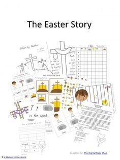 The Resurrection of Jesus for Preschool