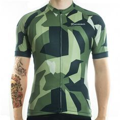 eec83f713 Always thought camo was a little too action man  Our Camo Cycling Jersey is  sure to change your mind. This Jersey sports a cool camo look and is highly  ...