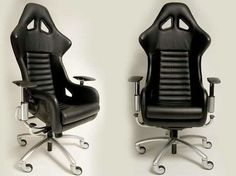 Ferrari F360 Challenge Carbon Fiber Chair - this is what we need for the office, Tanya!