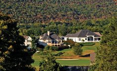 Black Creek is an attractive and pleasant community situated eight miles southwest of downtown Chattanooga, Tennessee. Downtown Chattanooga, Fall Trees, Mountain Resort, Resort Style, Luxury Living, New Homes, Real Estate, Exterior, Mansions