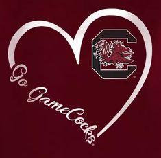 South Carolina Gamecocks Football, Gamecock Nation, Clemson, College Football Teams, Sports Teams, Go Gamecocks, Glass Block Crafts, University Of South Carolina, Cellphone Wallpaper