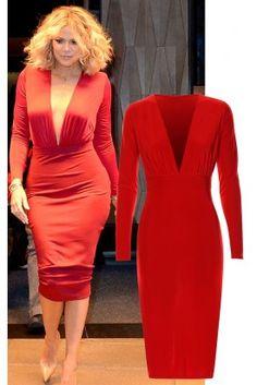 Khloe Midi Dress Bodycon