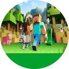 Minecraft- Kit Digital Grátis para Imprimir Minecraft Crafts, Minecraft Party Decorations, Mine Craft Party, Diy Disney Ears, Disney Diy, Minecraft Invitations, Video Game Costumes, Minecraft Wallpaper, Craft Images
