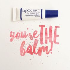 "LipSense Lip Balm is A-mazing!! Most moisturizing Lip ""gloss"" balm  from SeneGence! Message me to order or go to www.gorgeouslip.com"