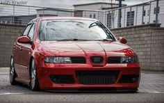 Seat Leon Cupra R Mk1 Red Slammed