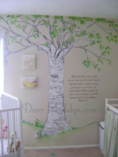 Classic Pooh, Wall Art dad could probably paint something like this eventually