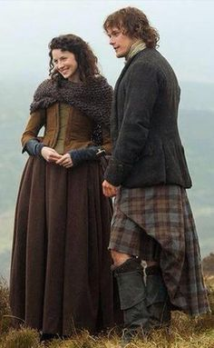 Nice pic of Claire and Jamie.
