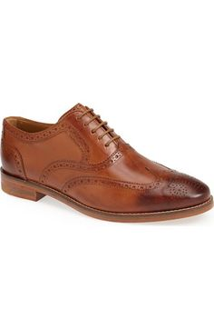 Cole Haan 'Cambridge' Wingtip (Men) available at #Nordstrom