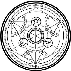 Resultado de imagen para traduccion de simbolos de circulo de transmutacion