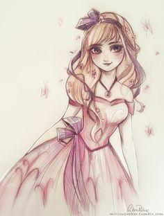 Anna by Mitsou Parker #frozen #disney #fanart