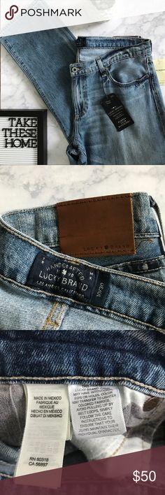 Lucky Brand Sienna Slim Boyfriend Jeans Size 30, boyfriend style distressed jeans, inseam 29, new with tags, never worn, super soft denim Lucky Brand Jeans Boyfriend