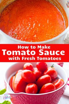 Use up garden tomatoes to make this Italian Tomato Sauce with Fresh Tomatoes! This tutorial will show you how to make fresh tomato sauce for beginners. Fresh Tomato Marinara Sauce, How To Make Tomato Sauce, Easy Tomato Sauce, Homemade Tomato Sauce, Homemade Spaghetti Sauce Recipe With Fresh Tomatoes, Authentic Salsa Recipe With Fresh Tomatoes, Pizza Sauce Recipe Fresh Tomatoes, Authentic Italian Tomato Sauce Recipe, Dips