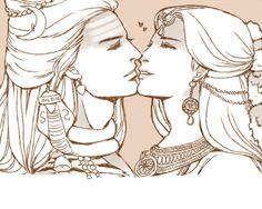 a_divine_kiss_by_mmmmmr-d8me1fa.jpg (500×400)