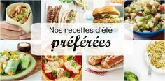 Nos recettes d'été préférées Hamburgers, Tacos, Favorite Recipes, Ethnic Recipes, Food, Quinoa Salad, Meal Ideas, Eat, Kitchens