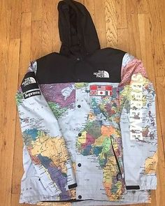 Supreme x the north face springsummer 2014 collection supreme supreme x the north face ss14 expedition maps coaches jacket size large gumiabroncs Gallery